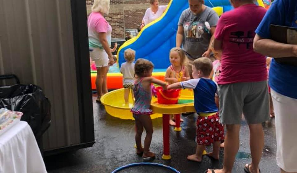Water Day at Patchwork Playdates.